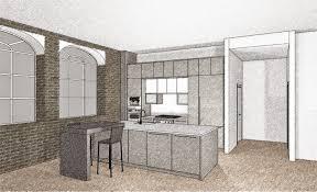 interior design the modern loft design project featuring the