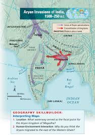 Hindu Kush Map Aryans Of India Earnest Sevier Cox