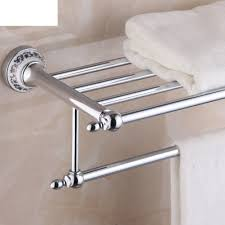 Porcelain Bathroom Accessories by High Quality Blue And White Porcelain And Brass Towel Rack Towel