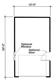 1 car garage dimensions garage plan 6001 at family home plans