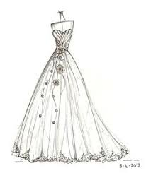 wedding dress coloring pages as seen on style me pretty custom wedding dress illustration