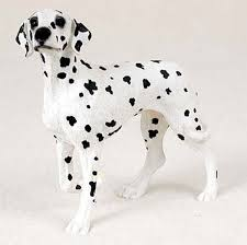 dalmatian painted collectible figurine