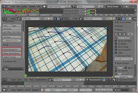 tutorial blender tracking tracking make a hole in the ground of a video which is camera
