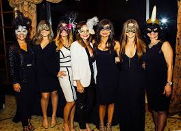 masquerade party ideas miss party client party 40th birthday black white