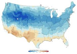 Usa Climate Map by Severe Thunderstorms And Climate Change Image Of The Day