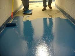paint concrete floors best paint concrete basement floor