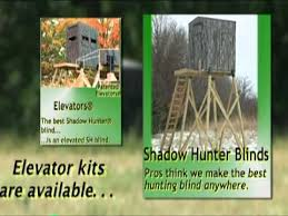 Deer Blind Elevators Roger Raglin And Shadow Hunter Youtube