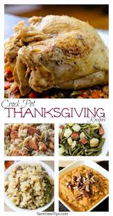 crock pot thanksgiving recipes tammilee tips