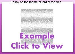 lord of the flies themes and messages essay on the theme of lord of the flies custom paper academic