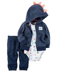 carter s baby boys 3 piece hoo bodysuit pants set baby