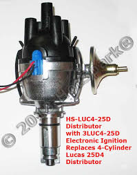 new 25d4 replacement electronic distributor for vehicles with
