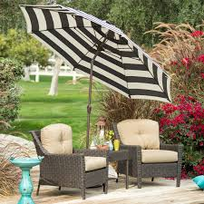 Blue And White Striped Patio Umbrella Home Part 4
