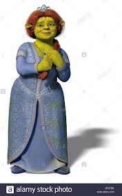 princess fiona shrek shrek 3 2007 stock photo royalty