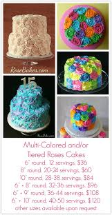 How Much Is A Dozen Roses How To Charge For Cakes Rose Bakes