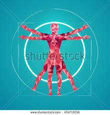 Leonardo Da Vinci Human Anatomy Drawings Da Vinci Sign Abstract Science Drawing Stock Vector 455963587