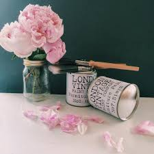 shabby chic ing with the london vintage paint company wild crimson