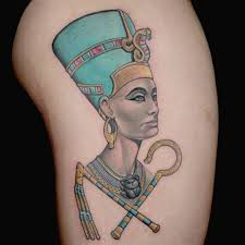 Queen Nefertari Tattoo | queen nefertari tattoo by craig foster s tattoo from ink master on