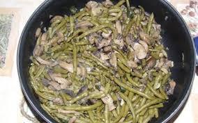 cuisiner haricot vert recette poêlée de haricots verts aux oignons pas chère et