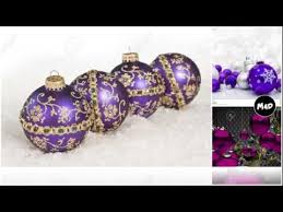 purple ornaments ornaments
