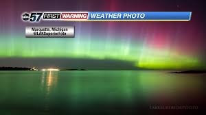 Northern Lights Michigan Forecast Northern Lights Visible Locally
