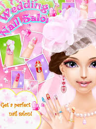 wedding nail salon game android apps on google play