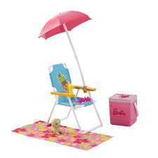 barbie furniture u0026 accessories beach picnic walmart canada