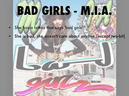 Mia Bad Girls Outsiders Playlist By Baelaya Warunek
