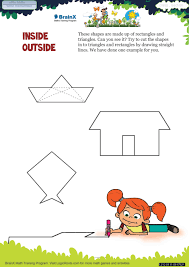 inside outside math worksheet for grade 1 free u0026 printable