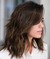 90 sensational medium length haircuts for thick hair shag