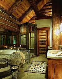 Log Cabin Bathroom Ideas Colors 114 Best Bathrooms Images On Pinterest Bathroom Ideas Dream