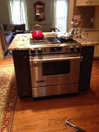 built in kitchen island built in stove kitchen island granite countertops
