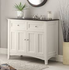 white bathroom vanity cabinet adelina 48 75â inch antique white sink bathroom vanity black