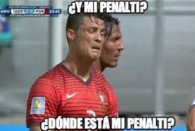 Fantasy Football Chion Meme - los memes del mundial de ensañan con cristiano ronaldo y pepe fifa