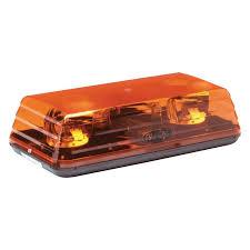 amber mini light bar ecco 15 blaze ii rotating amber mini beacon light bar