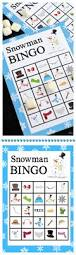halloween bingo cards printable printable snowman bingo game crazy little projects