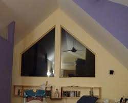Blinds For Angled Windows - curtains or blinds for trapezoid windows