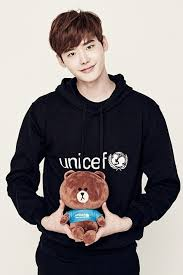 Jong Suk Jong Suk Poses For Line X Unicef S New Caign