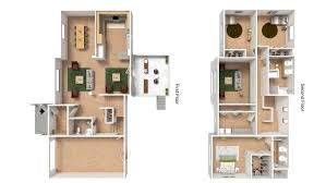 Floor Plans For Apartments 3 Bedroom by 3 Bed 2 5 Bath Apartment In Wainwright Ak North Haven