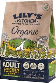 Healthy Kitchen Dog Food by Lily U0027s Kitchen Organic Chicken And Vegetable Bake Dog Food