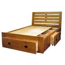 chambre à coucher en chêne massif huayi lit en chêne massif 1 5m lit avec tiroir meubles de