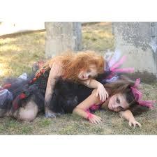 scary monster halloween costumes aliexpress com buy zombie tutu dress black red halloween costume