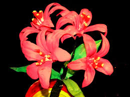 recycled diy how to make nerine flowers with waste water bottles
