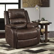 Ashley Recliners Ashley Furniture Barling Power Recliner With Adjustable Headrest