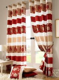 tall red and green living room curtains red by colour gold