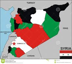 Map Of Israel And Syria by Syria Map Stock Photo Image 18972270