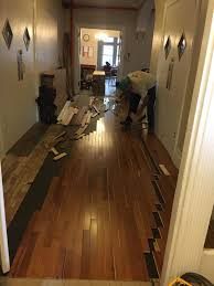 Laminate Flooring For Stairs Installation Of New Floor For Entire Place U0026 Stairs Refinishing