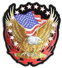 Eagle American Flag American Flag Patches Shop Us Flag Patches Iron On Or Sew On
