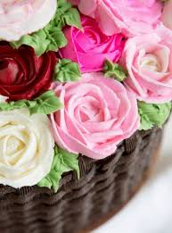 basket of flowers basket of flowers cake i am baker