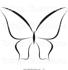 butterfly clipart black and white clipart panda free clipart