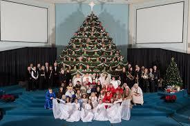 agawam u0027s bethany assembly readies singing christmas tree